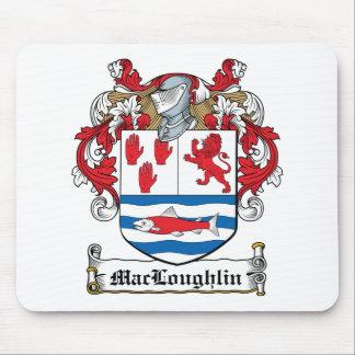 Escudo de la familia de MacLoughlin Tapete De Ratón