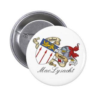 Escudo de la familia de MacLysacht Pin