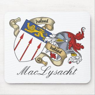 Escudo de la familia de MacLysacht Tapete De Ratón