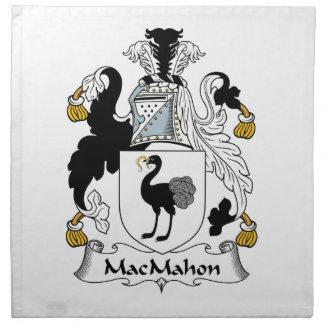 Escudo de la familia de MacMahon Servilleta Imprimida