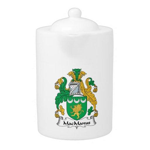 Escudo de la familia de MacManus