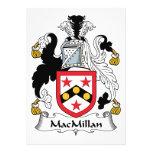 Escudo de la familia de MacMillan Invitaciones Personalizada
