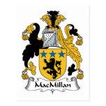 Escudo de la familia de MacMillan Postal