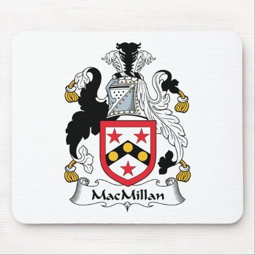 Escudo de la familia de MacMillan Tapete De Ratones