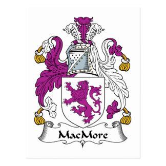 Escudo de la familia de MacMore Postal