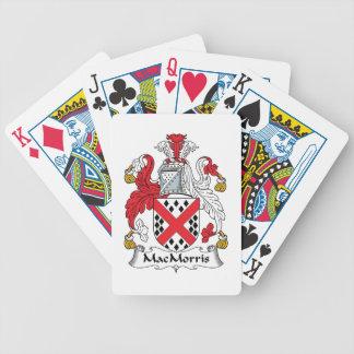 Escudo de la familia de MacMorris Baraja Cartas De Poker