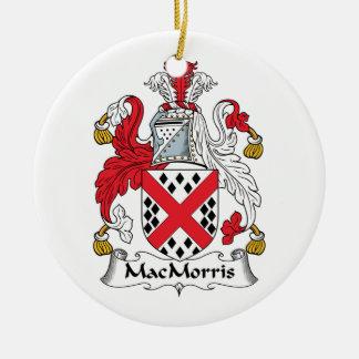 Escudo de la familia de MacMorris Ornamentos Para Reyes Magos