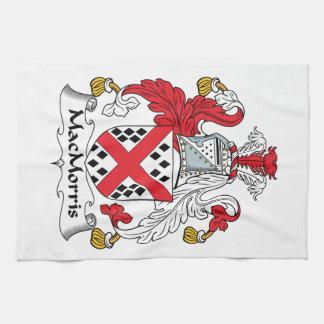 Escudo de la familia de MacMorris Toallas De Cocina