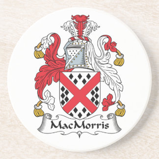 Escudo de la familia de MacMorris Posavasos Diseño