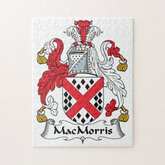 Escudo de la familia de MacMorris Puzzles Con Fotos