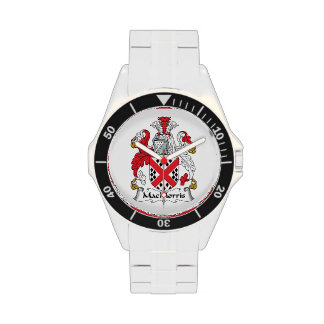 Escudo de la familia de MacMorris Reloj De Mano
