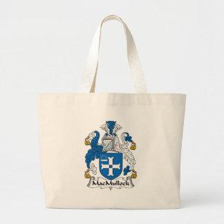 Escudo de la familia de MacMullock Bolsas De Mano