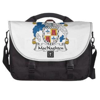 Escudo de la familia de MacNaughten Bolsas Para Portatil
