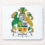 Escudo de la familia de MacNeil Tapetes De Ratón
