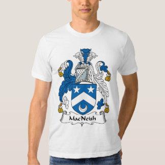 Escudo de la familia de MacNeish Remeras
