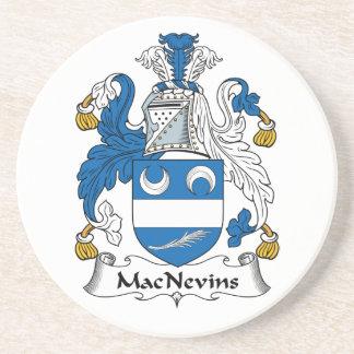 Escudo de la familia de MacNevins Posavasos Manualidades