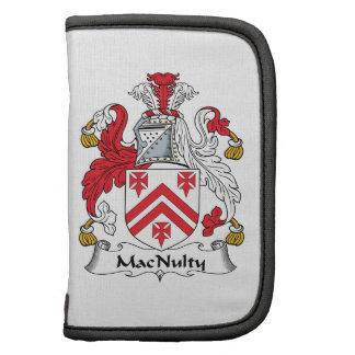 Escudo de la familia de MacNulty Organizadores