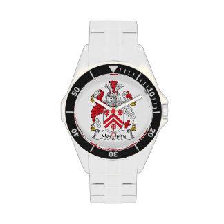 Escudo de la familia de MacNulty Reloj De Mano