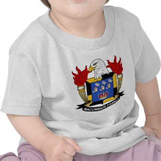 Escudo de la familia de Macomber Camiseta