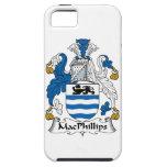 Escudo de la familia de MacPhillips iPhone 5 Carcasa