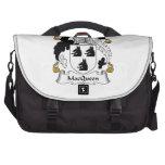 Escudo de la familia de MacQueen Bolsas Para Ordenador