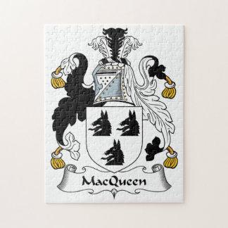 Escudo de la familia de MacQueen Rompecabeza