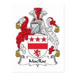 Escudo de la familia de MacRae Postal