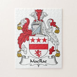 Escudo de la familia de MacRae Puzzles Con Fotos