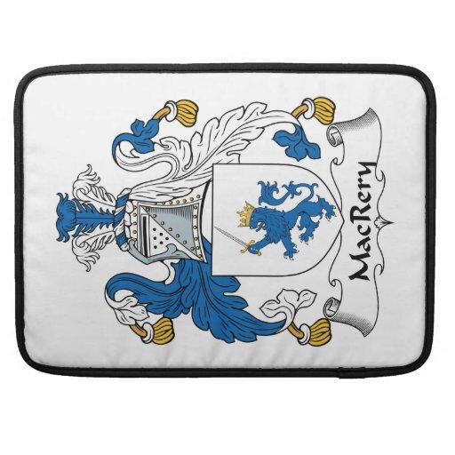 Escudo de la familia de MacRery Funda Para Macbooks
