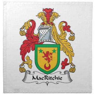 Escudo de la familia de MacRitchie Servilleta De Papel