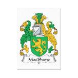 Escudo de la familia de MacShane Impresiones En Lona