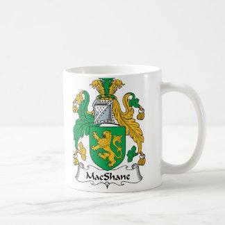 Escudo de la familia de MacShane Taza Clásica