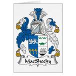 Escudo de la familia de MacSheehy Felicitacion