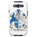 Escudo de la familia de MacSheehy Galaxy SIII Protectores
