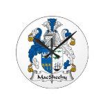 Escudo de la familia de MacSheehy Relojes