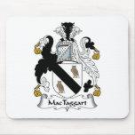 Escudo de la familia de MacTaggart Tapetes De Ratón