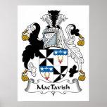 Escudo de la familia de MacTavish Poster