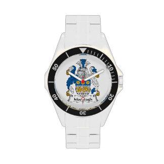 Escudo de la familia de MacVeagh Relojes