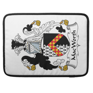 Escudo de la familia de MacWorth Funda Para Macbook Pro