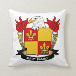 Escudo de la familia de Macy Almohada