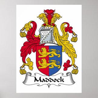 Escudo de la familia de Maddock Impresiones