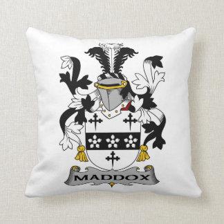 Escudo de la familia de Maddox Cojin