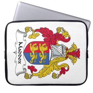 Escudo de la familia de Maddox Funda Portátil
