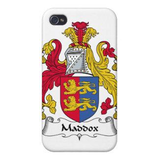 Escudo de la familia de Maddox iPhone 4 Cárcasas