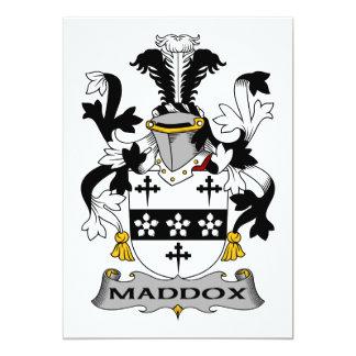Escudo de la familia de Maddox Comunicados
