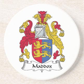 Escudo de la familia de Maddox Posavasos Manualidades