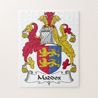 Escudo de la familia de Maddox Rompecabeza Con Fotos