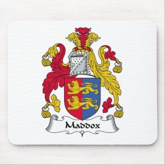 Escudo de la familia de Maddox Tapetes De Ratón