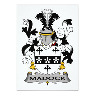 Escudo de la familia de Madock