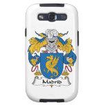 Escudo de la familia de Madrid Samsung Galaxy S3 Protectores
